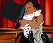 Alvin seville as Tuxedo Mask