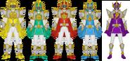 Divine Knight Rangers (Knight Form)