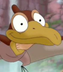 Petrie in The Land Before Time 14 Journey of the Brave