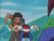 Brock Punches Ash