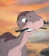 Littlefoot in The Land Before Time