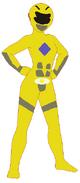 Moana as Yellow Ranger