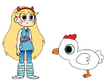 Star meets Domestic Chicken