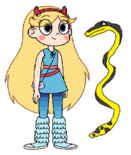 Star meets Yellow-Bellied Sea Snake