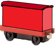 Take Along and Take 'n' Play Greendale Rocket's Red Mailcar.