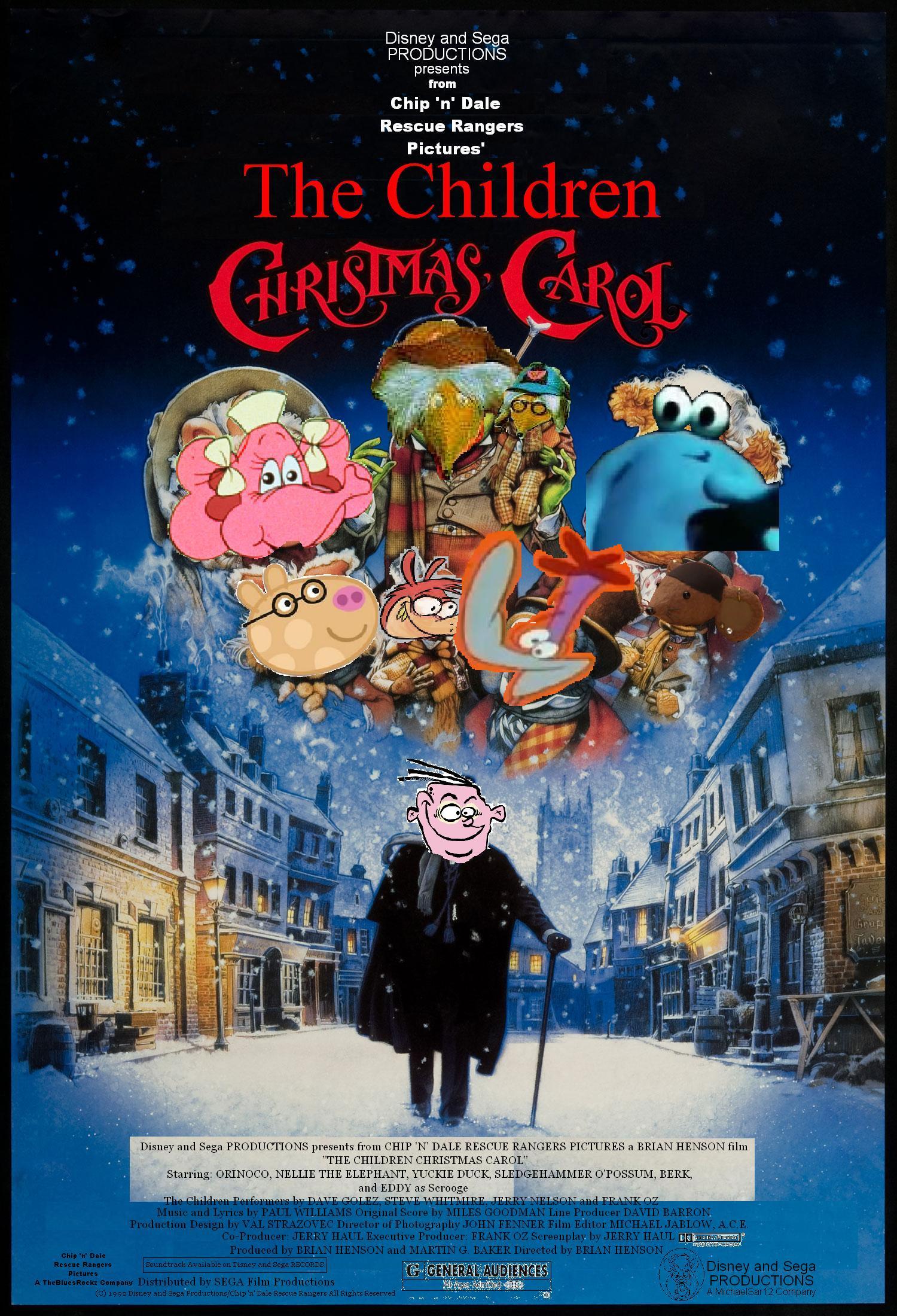 A Christmas Carol Poster.The Children Christmas Carol The Parody Wiki Fandom