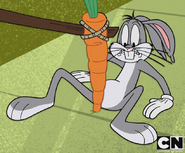 Bugs scares grim with carrot