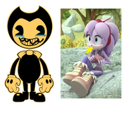 Perci is with Bendy