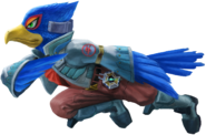 Super Smash Bros. Ultimate Falco Render