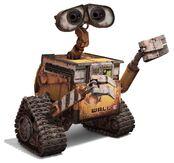 Wall-e pixar character