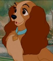 Lady in Lady and the Tramp