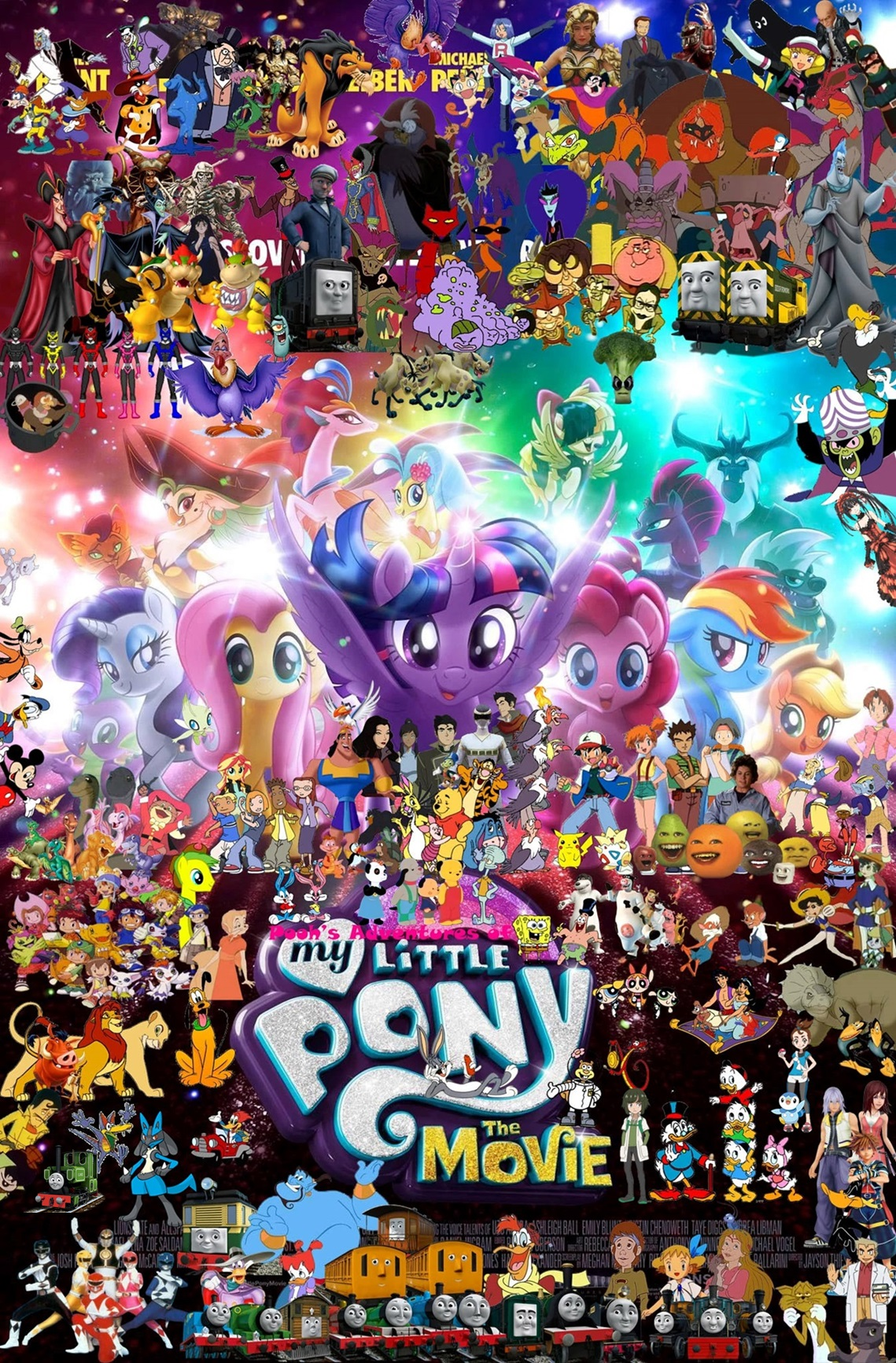 Pooh 39 s adventures of my little pony the movie 2017 - My little pony wikia ...