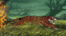Shere Khan's defeat (1st film)