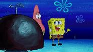 Spongebob get a point