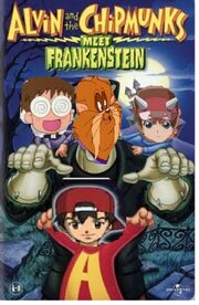 Akira and the chipmunks meet frankenstein vhs cover
