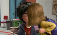 Hiro and Riley's kiss