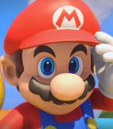 Mario in Mario + Rabbids Kingdom Battle (2017)