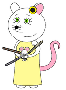 Polly Pollyanna (sabers and pistol)