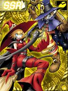 Witchmon and Wizarmon re collectors card
