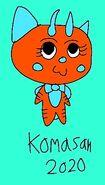 2020 Komasan as Rajah the Tiger