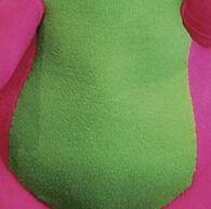 Barney's Green Tummy