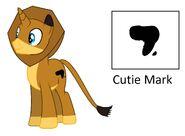 Alex the Lion Pony
