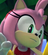 Amy Rose in Sonic Lost World