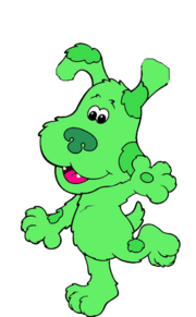 Green Puppy (Blue's Room Style)
