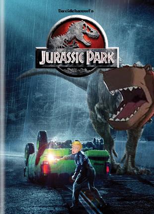 Jurassic Park (Davidchannel's Version) (1993) Poster