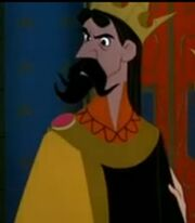 King Stefan in Sleepin Beauty