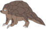 Percy the Ground Pangolin