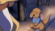 Roo tells Rabbit that he missed Tigger crying