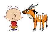 Stanley Griff meets Giant Eland