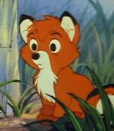 Young Tod in The Fox and the Hound
