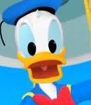 Donald Duck in Mickey Mouse Clubhouse