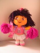 Dora as a Cheerleader