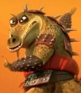 Master Croc in Kung Fu Panda 3