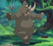 Tarzan Rhinoceros
