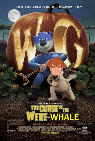 Big Bear and Cornelius The Cruse of the Were-Whale Poster
