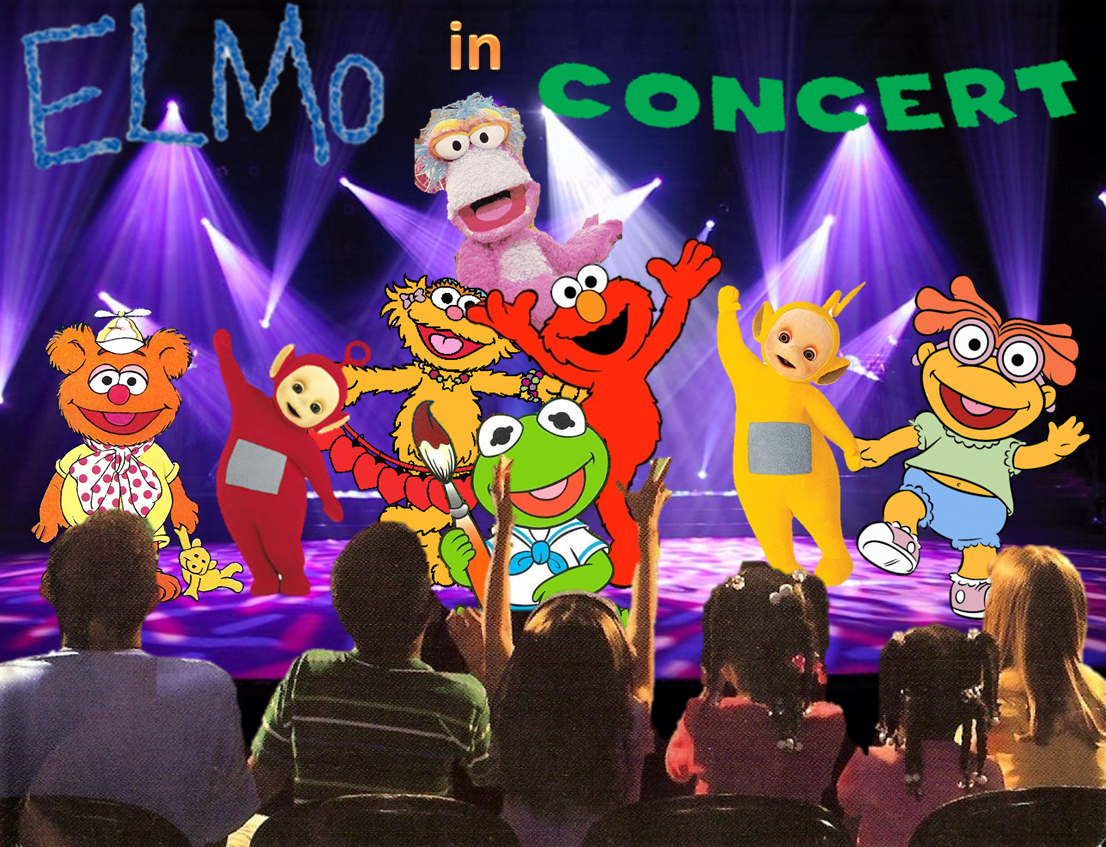 Elmo and the Backyard Gang: Elmo in Concert | The Parody