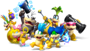 Koopalings - New Super Mario Bros U