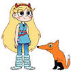 Star meets Red Fox