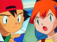 Ash vs Misty
