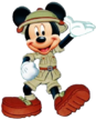 Zookeeper Mickey Mouse