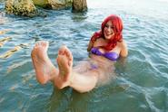 Ariel little marmaid cosplay by crazymonkey87-d80zpk0