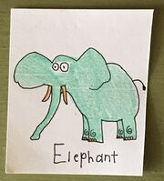 Elephant Begins With E