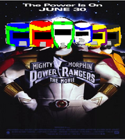 Mighty Morphin Spy Force Rangers The Movie Poster
