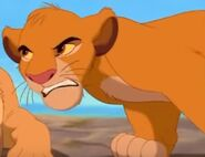 Simba Is So Angry When He Talk Whith His Teeth