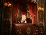 Statler and Waldorf joins the other Muppets with the crying after A Bird in a Gilded Cage