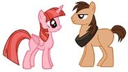 Teodora y leo version pony by 3d4d db27rjn-fullview